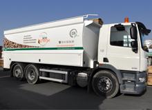 Le premier camion pulseur à pesée embarquée en Pays de la Loire