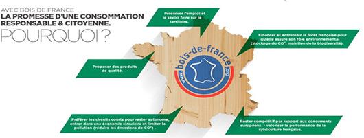 Avec Bois de France la promesse d'une consommation responsable et citoyenne.