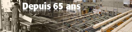 L'expérience et capacité de production de PIVETEAUBOIS, depuis 65 ans