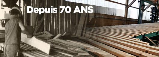 L'expérience et capacité de production de PIVETEAUBOIS, depuis 70 ans
